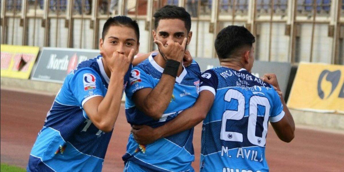 San Marcos de Arica se prendió en el clásico y goleó a Deportes Iquique por Copa Chile