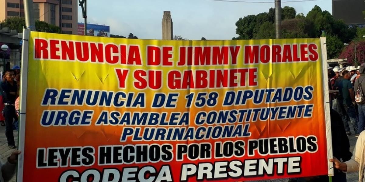 Por incremento de asesinato de líderes campesinos, convocan a manifestar en la capital