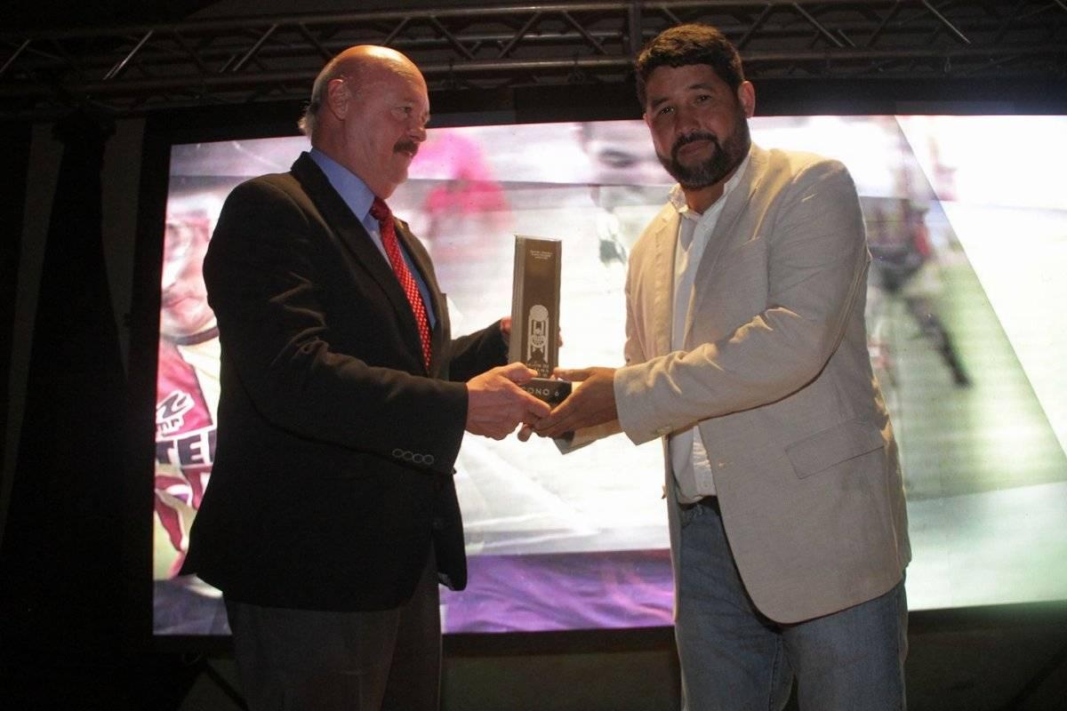 German Giovanni Ruano recibe el reconocimiento