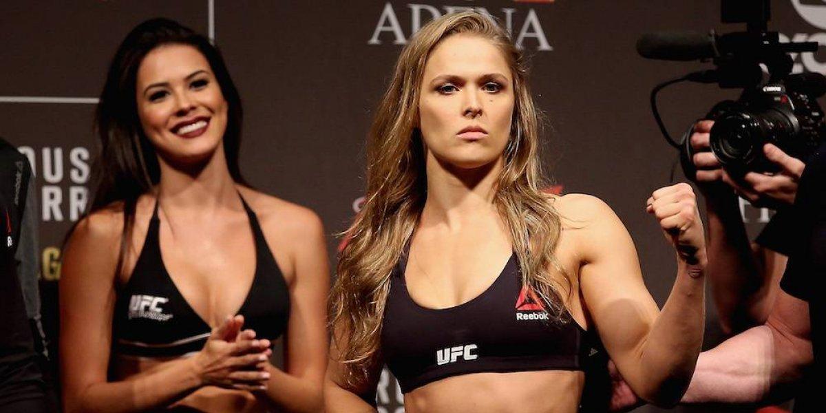 Ronda Rousey vuelve a hacer historia dentro de la UFC