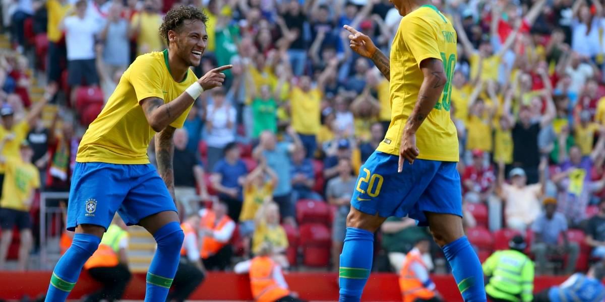 ¡Neymar está de vuelta! Brasil se aferra a su estrella para el último amistoso