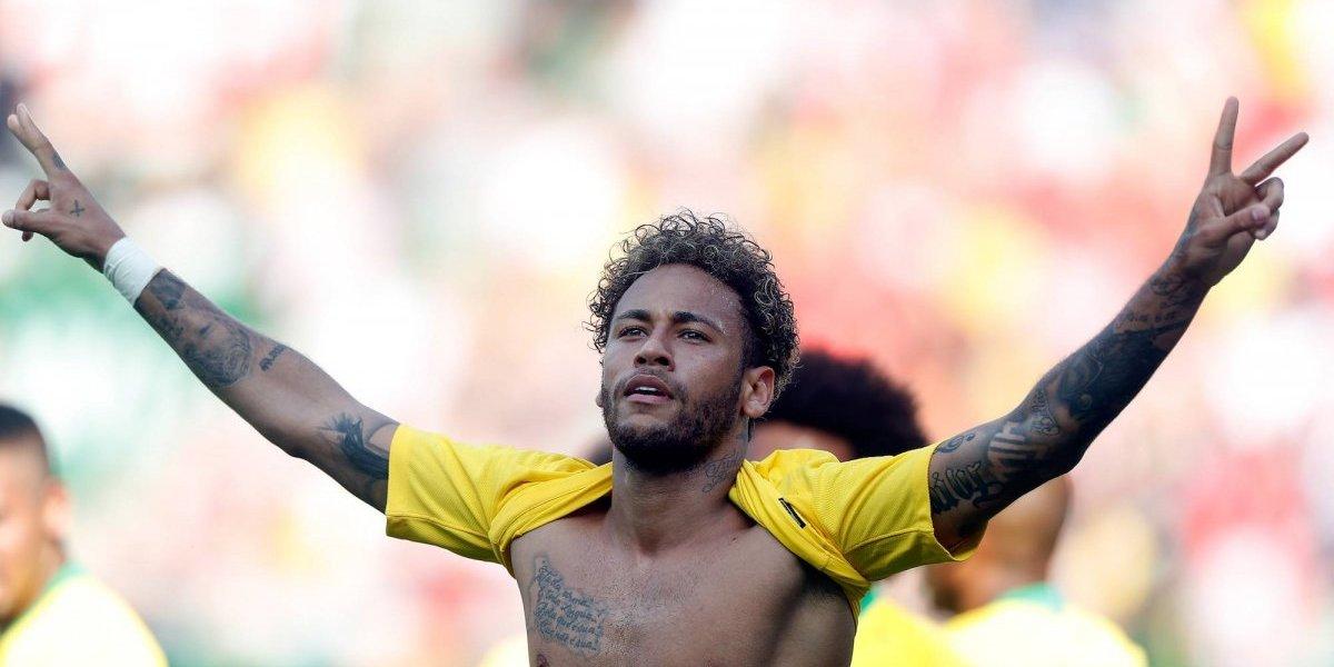 VIDEO: Neymar se luce ante Austria y mete tremendo gol