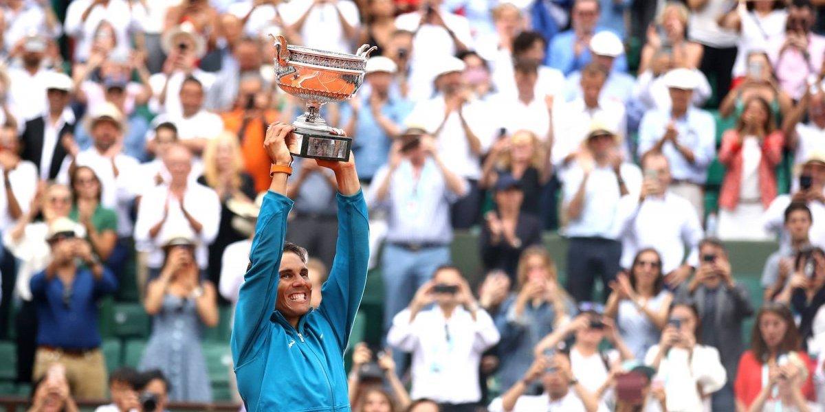 Rafa Nadal es el campeón de Roland Garros