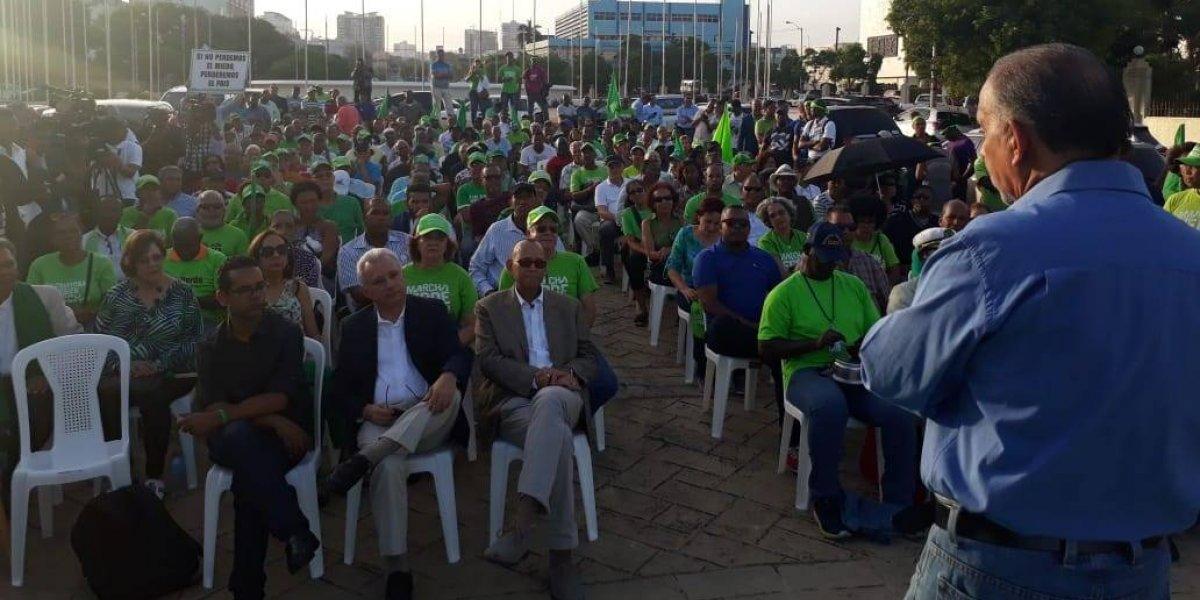 Marcha Verde se manifiesta por segundo día por caso Odebrecht