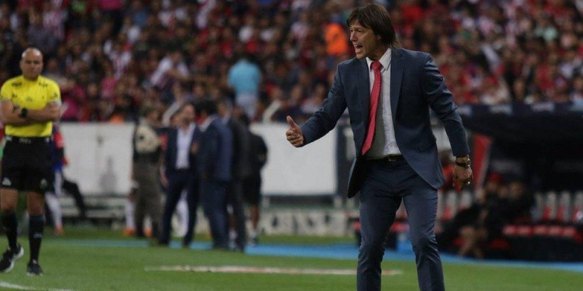 Matías Almeyda se despidió de sus jugadores