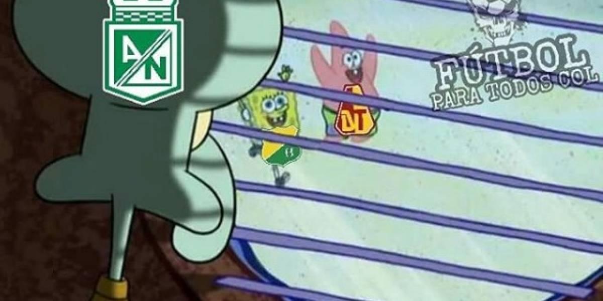 ¡A reír! Las burlas y memes se ensañaron con Nacional tras la final de la Liga Águila