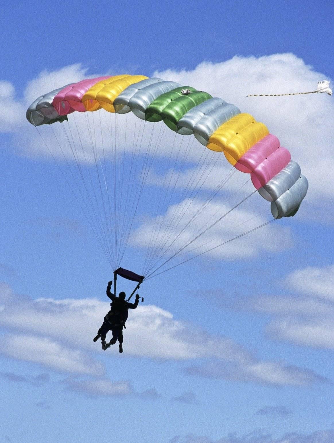 Paracaídas Dreamstime