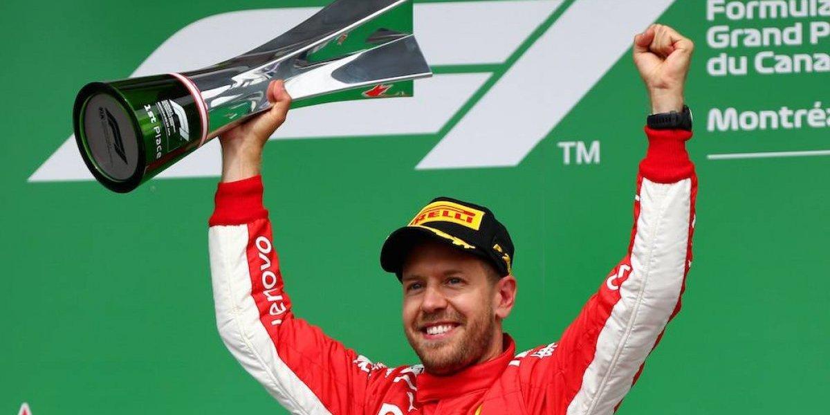 Sebastian Vettel se impone en el GP de Canadá; 'Checo' Pérez 13