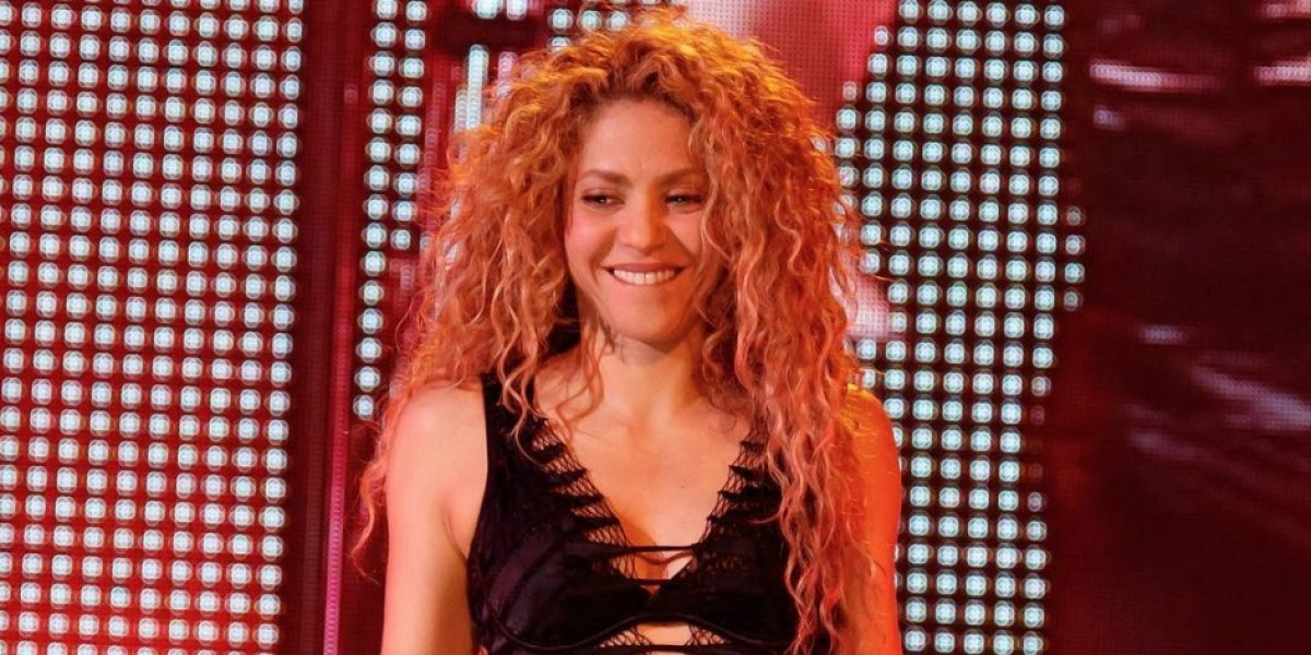 De esta forma Shakira subió al escenario a sus hijos