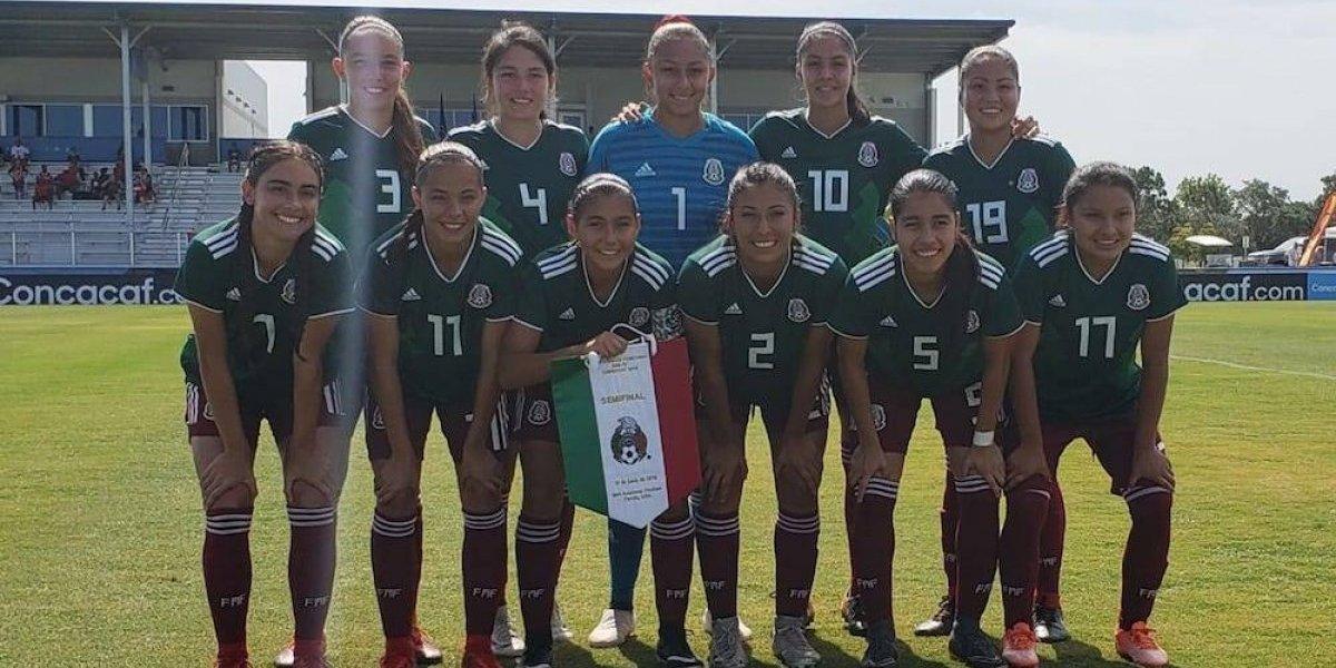 'Tri' femenil sub 17 derrota Canadá y va a Mundial Uruguay 2018