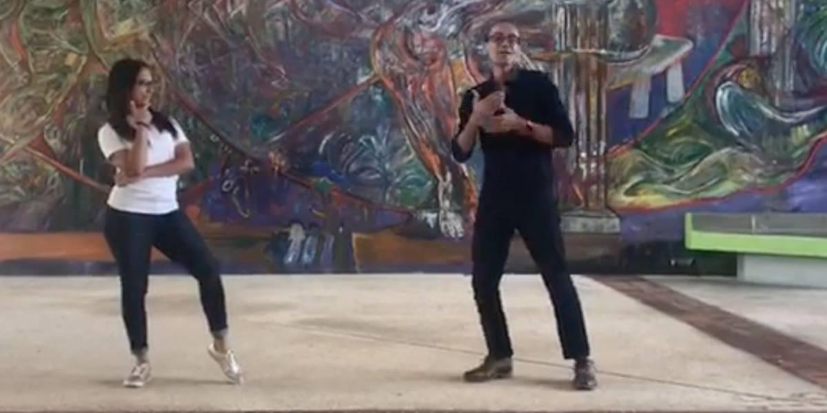 Viral interpretación de Dura en lenguaje de señas