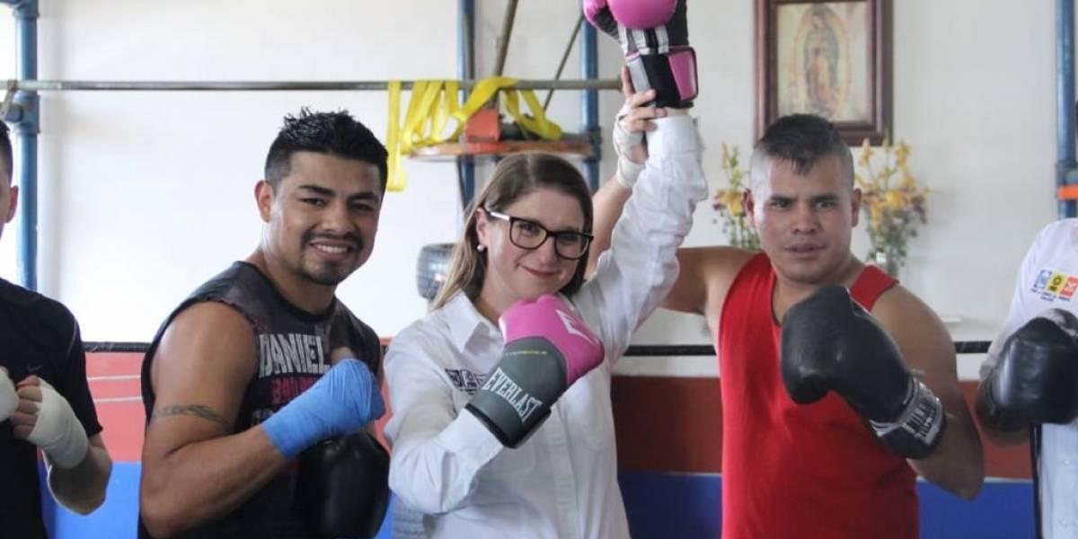 Daré 'nocaut' a la corrupción en Miguel Hidalgo: Magui Fisher