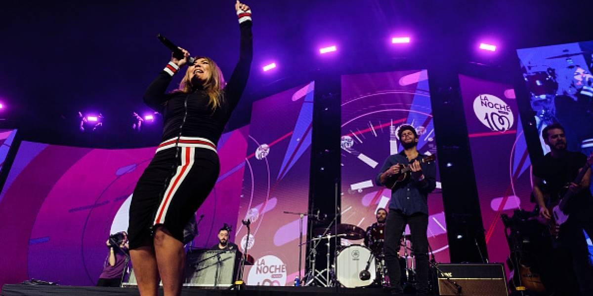 Amaia Montero tuvo problemas en su concierto en Cantabria