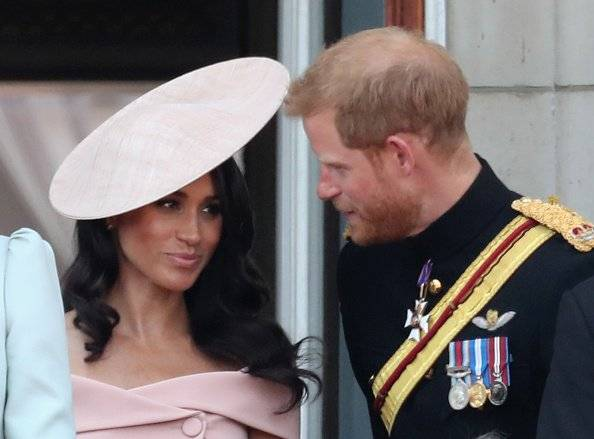 Meghan, Duquesa de Sussex y el príncipe Harry, Duque de Sussex Getty Images