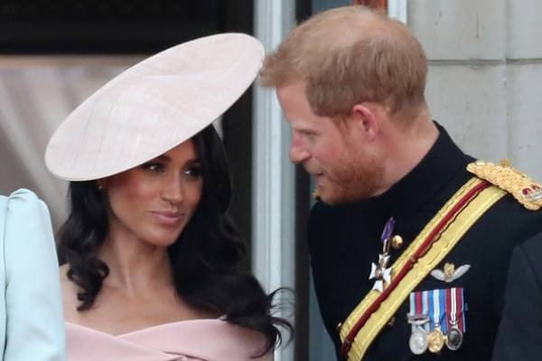 Meghan, Duquesa de Sussex y el príncipe Harry, Duque de Sussex