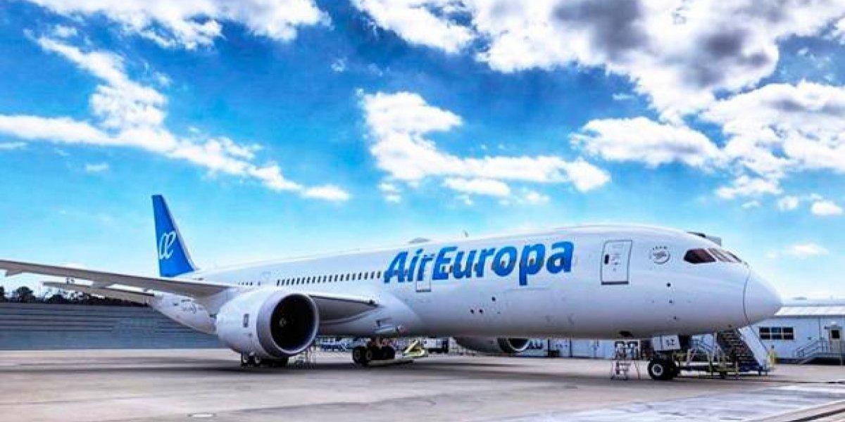 Air Europa estrena su último modelo Dreamliner