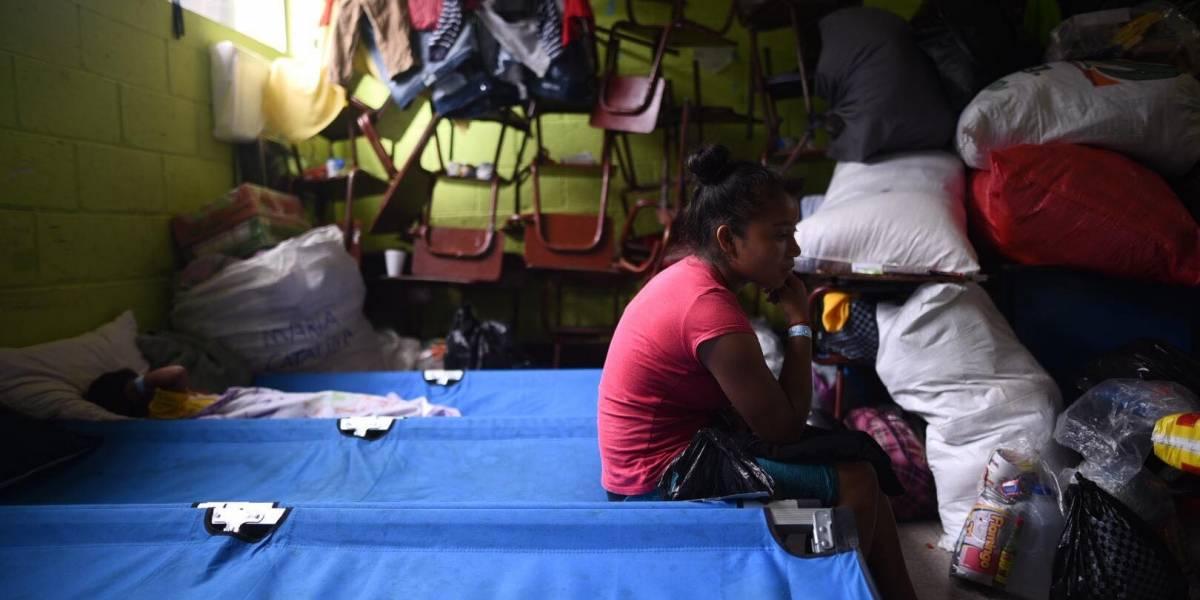 Pesar y gratitud en los albergues habilitados tras la erupción