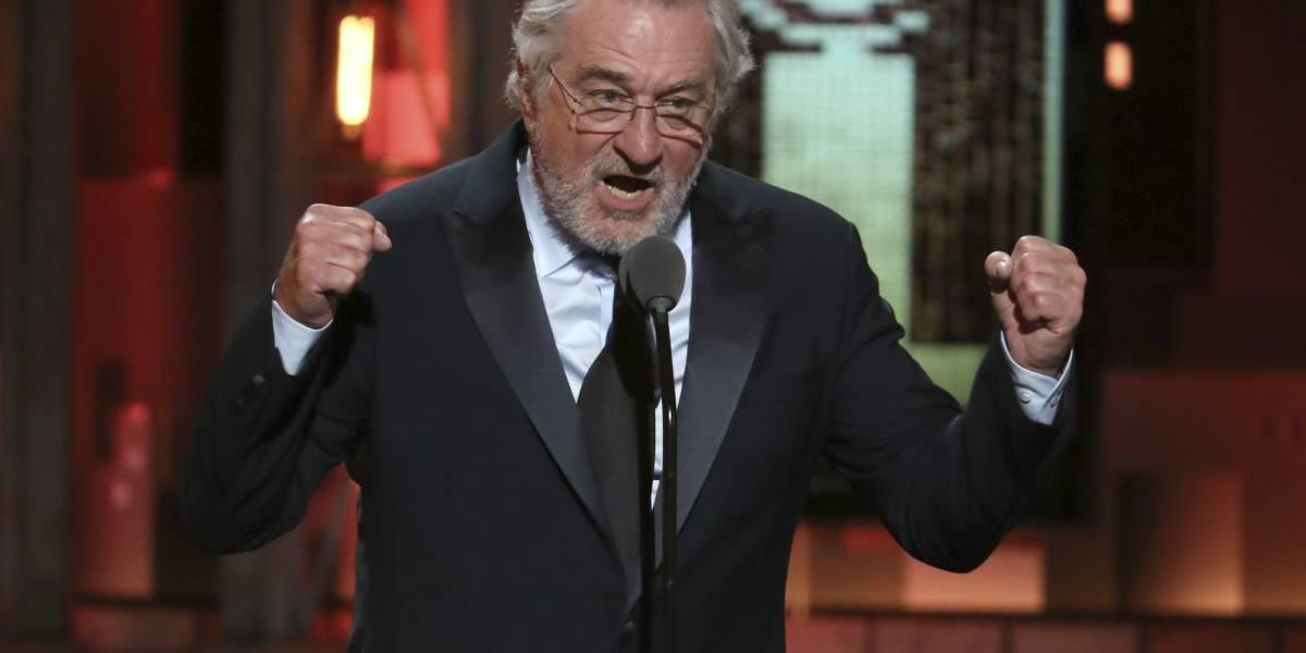 Robert De Niro insulta a Donald Trump en televisión en vivo