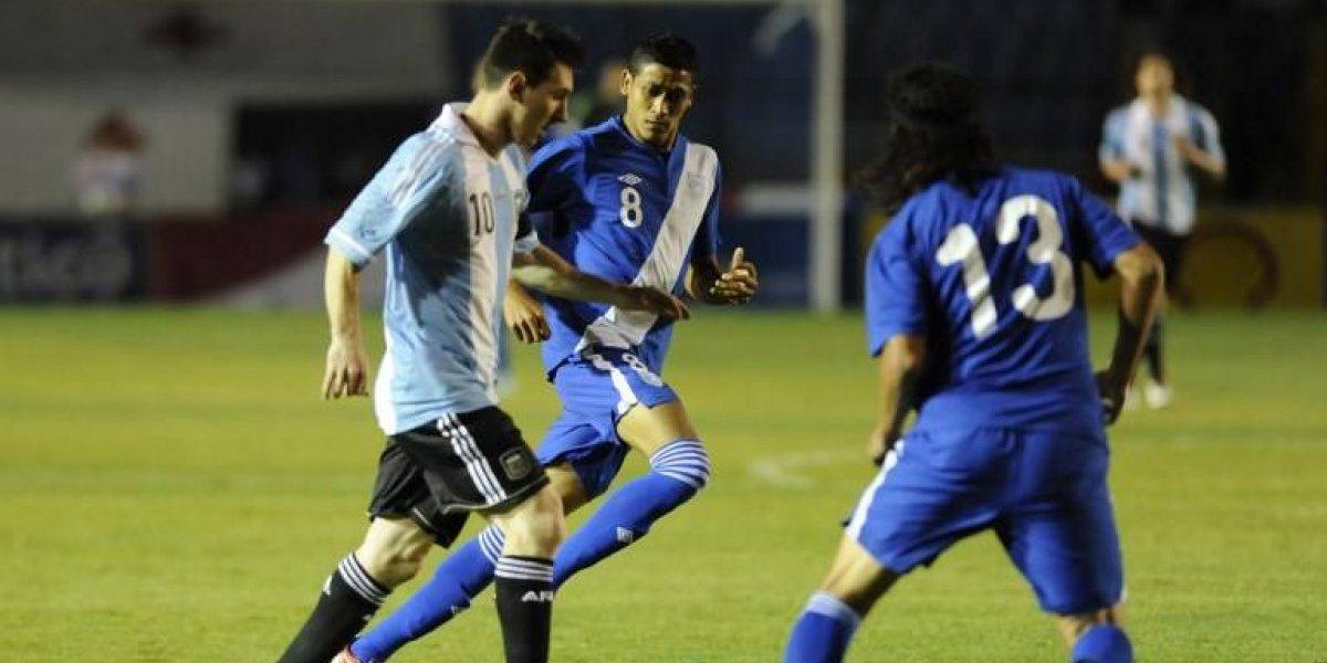 ¡Es oficial! En esta fecha Guatemala jugará amistoso con Argentina a beneficio de los damnificados