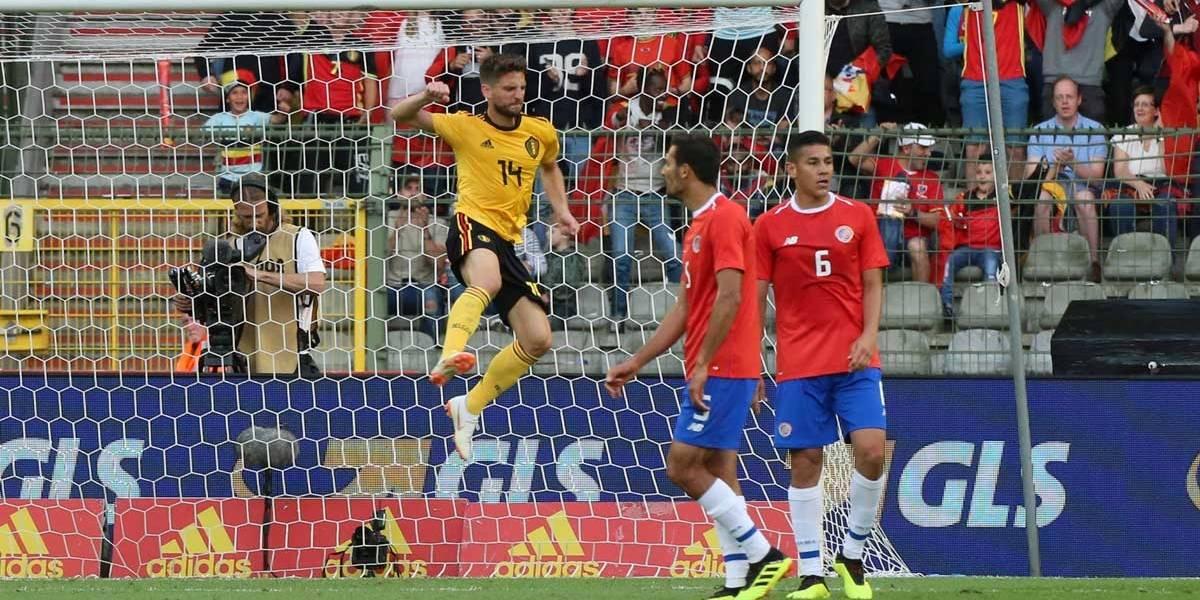 Adversária do Brasil, Costa Rica leva 4 da Bélgica no último amistoso pré-Copa