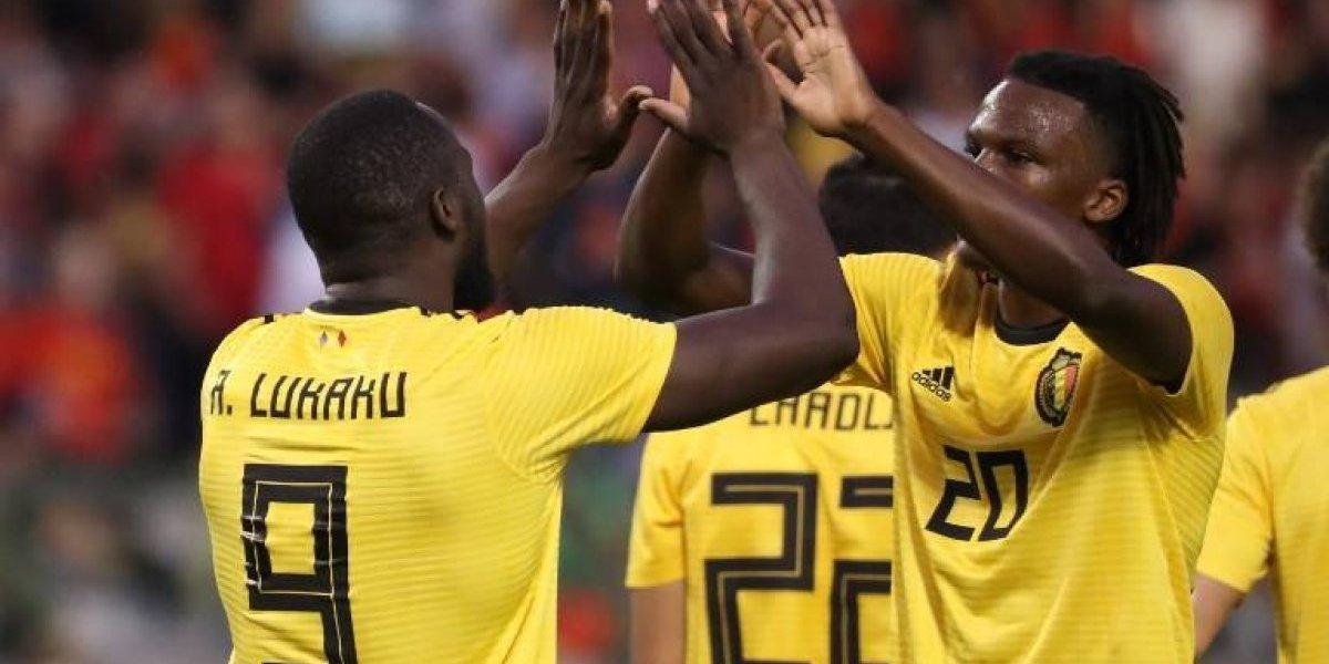 Con doblete de Lukaku, Bélgica golea a los ticos a tres días del Mundial
