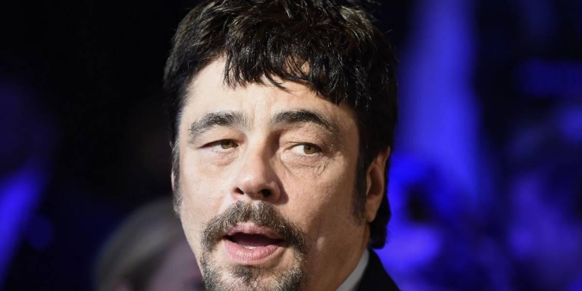 Benicio del Toro dice que union de México y EE. UU. es clave en lucha contra el narco
