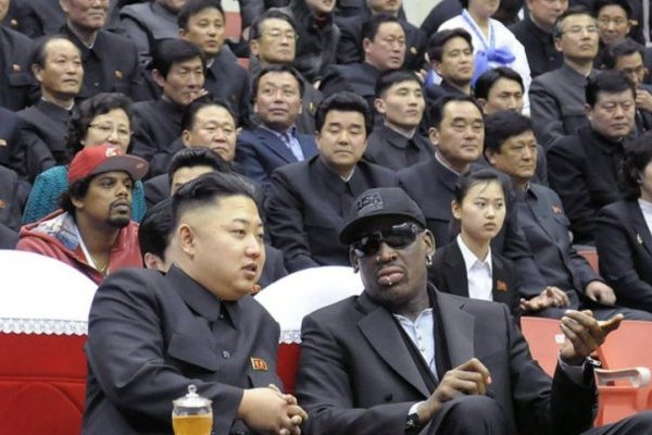 Kim y Rodman