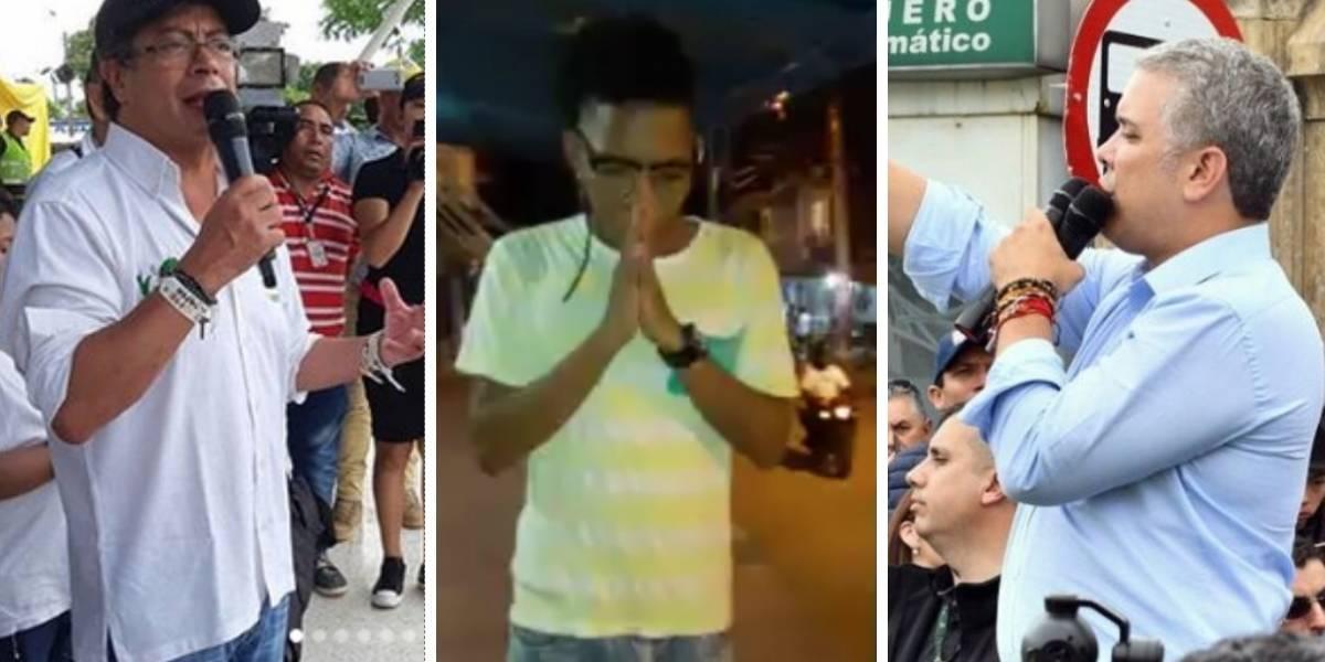 """""""¡Dios da una señal por quien votar!"""", el gracioso video viral en Facebook"""