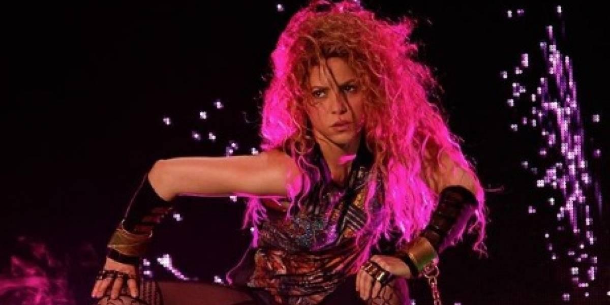 La foto 'incómoda' en tanga de Shakira en la playa