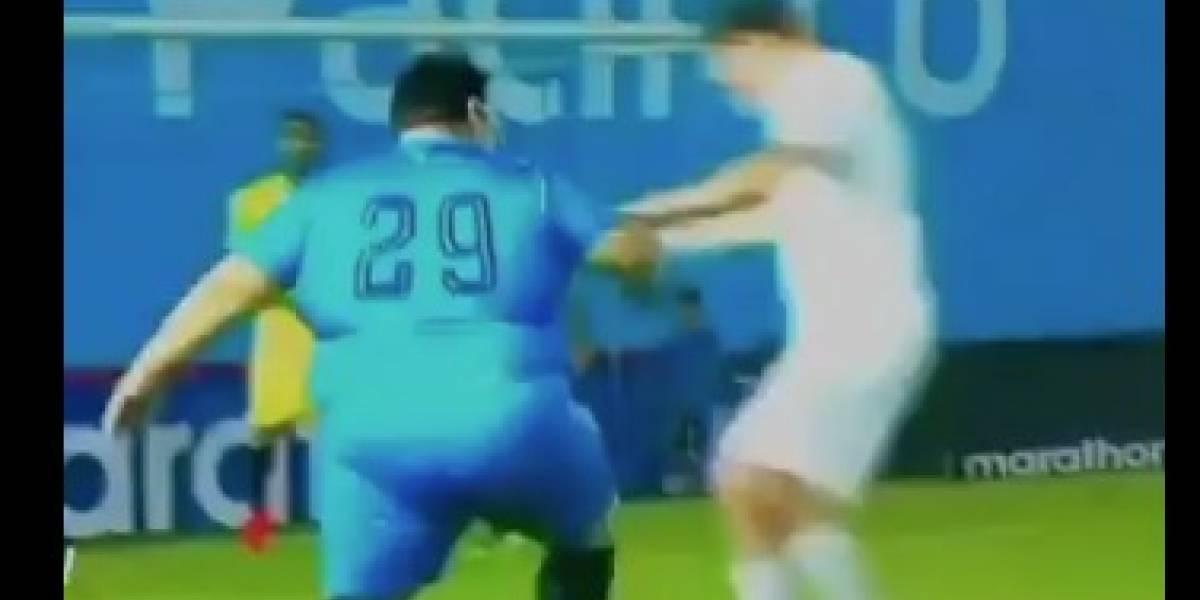 Pedro Ortiz es tendencia en redes por jugada en partido Valderrama vs Noboa