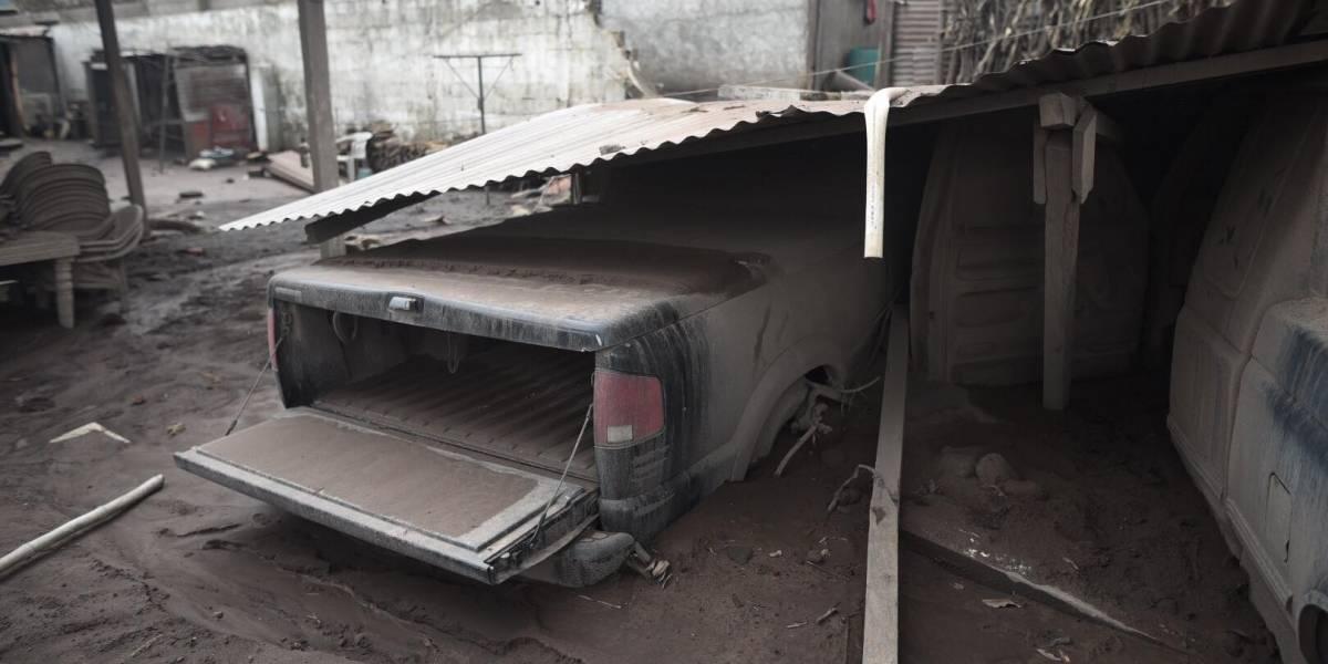 EN IMÁGENES. Destrucción y desolación en las casas en San Miguel Los Lotes