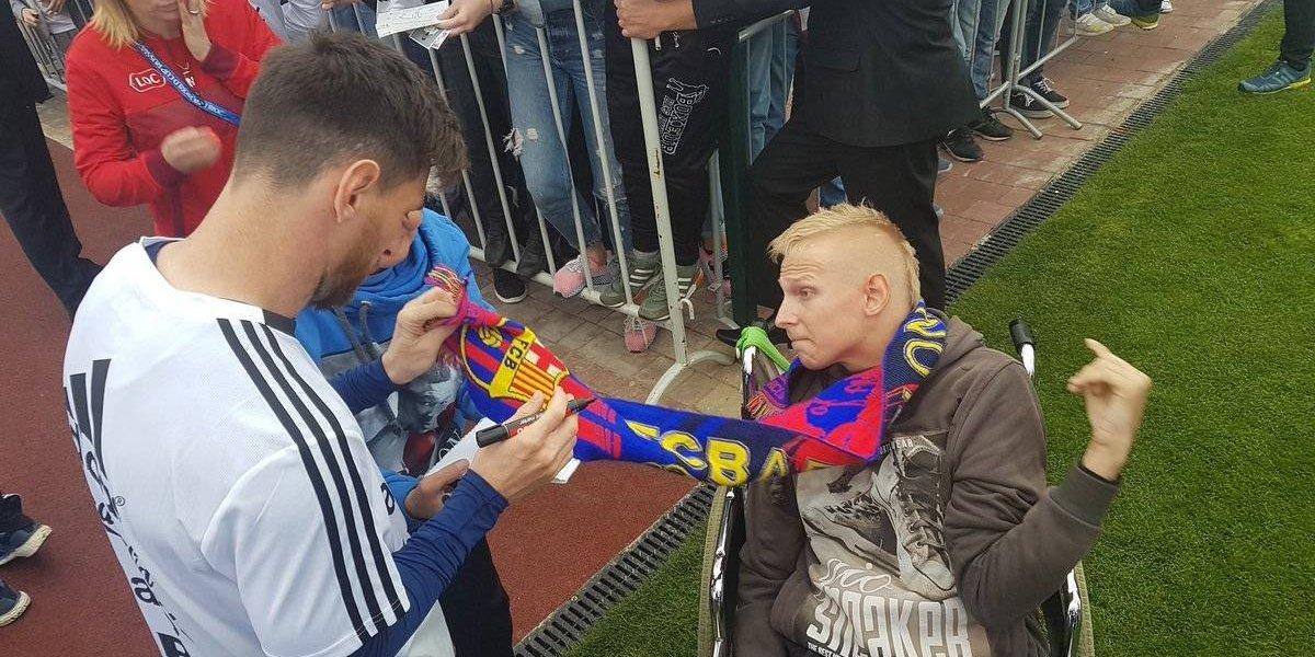 VIDEO: Selección de Argentina convive con aficionados en Rusia 2018