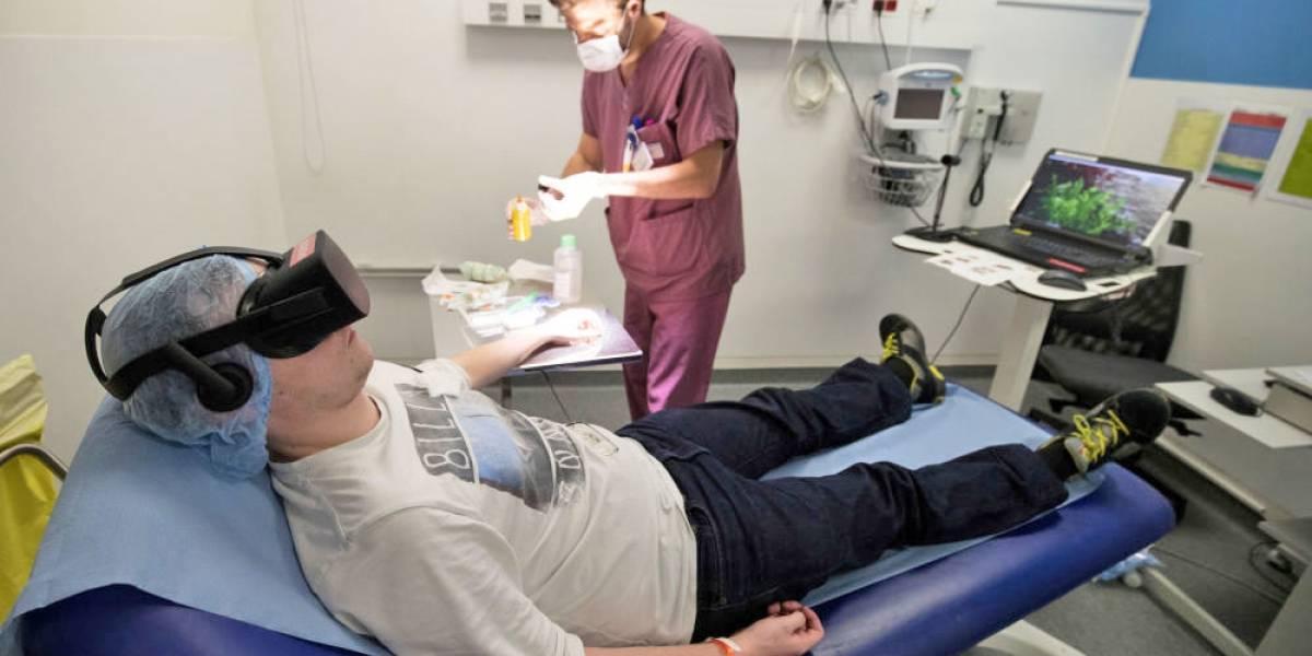La realidad virtual como nunca la viste: utilizan técnicas para controlar el dolor como si fuese droga