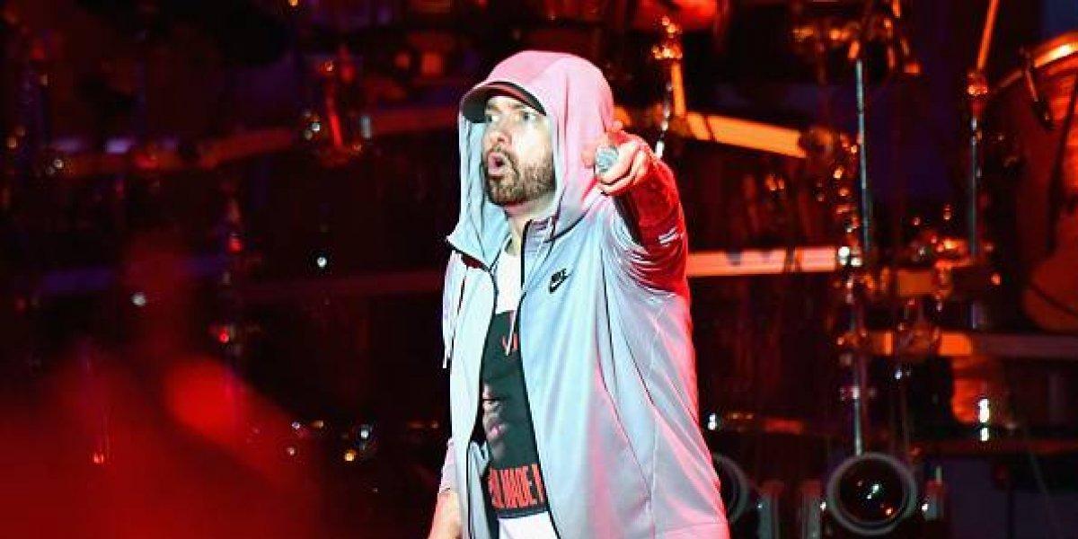 """Terror y confusión provocaron """"disparos"""" en concierto de Eminem"""