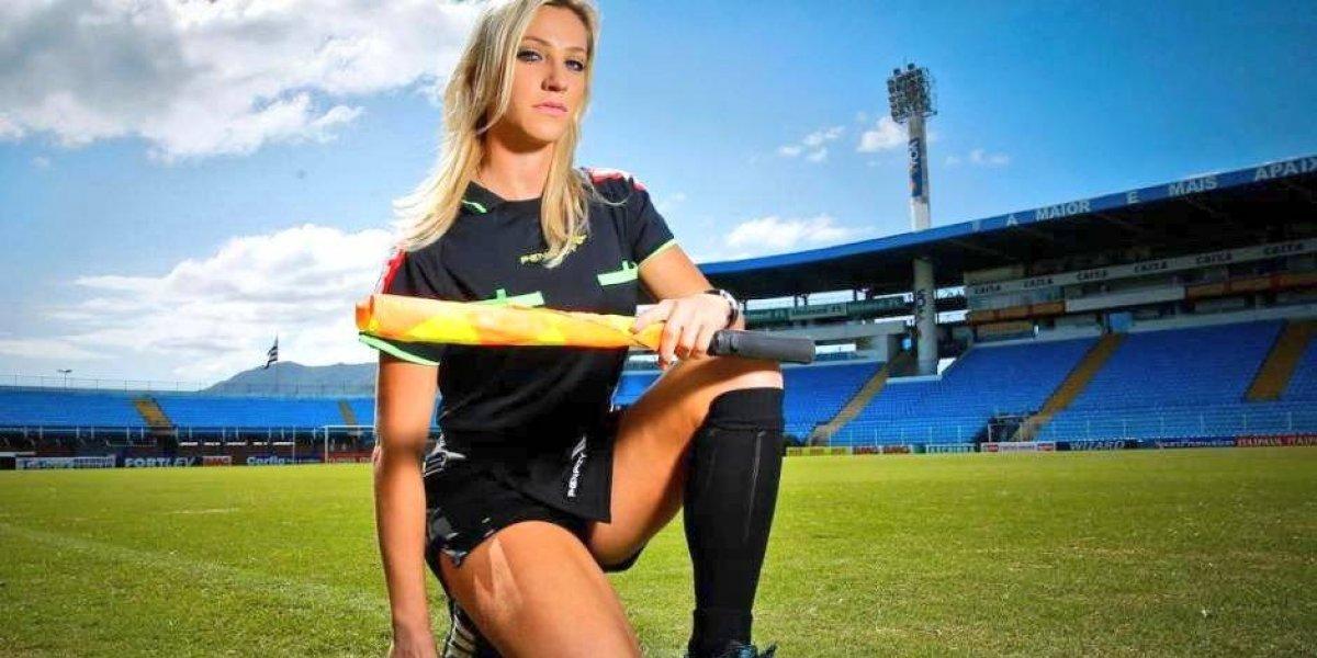 FOTOS. Fernanda Colombo, la bella árbitro que estará en Rusia 2018
