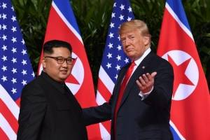 Cumbre entre Kim Jong-un y Donald Trump