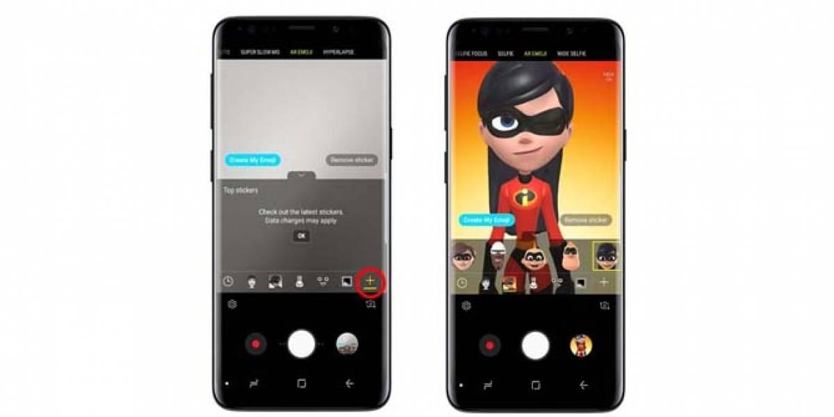 Llegan los 'Increíbles' AR emojis al Galaxy S9 y S9+