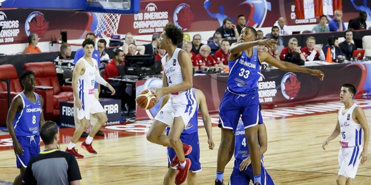 Puerto Rico vence a Dominicana en segundo partido Sub-18