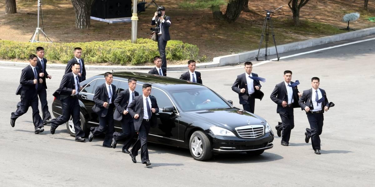 """Los """"guardaespaldas trotadores"""" de Kim Jong-un: soldados de élite y expertos en artes marciales"""