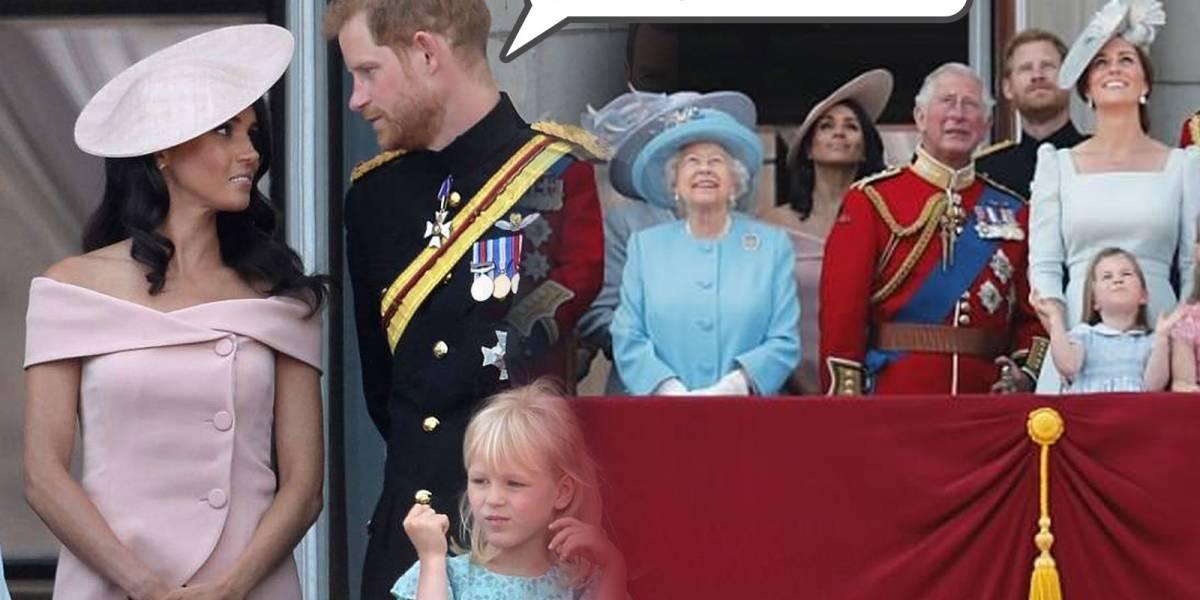 ¡Pésimo debut!: Harry regaña a Meghan en su primer acto protocolar con la Reina en pleno balcón