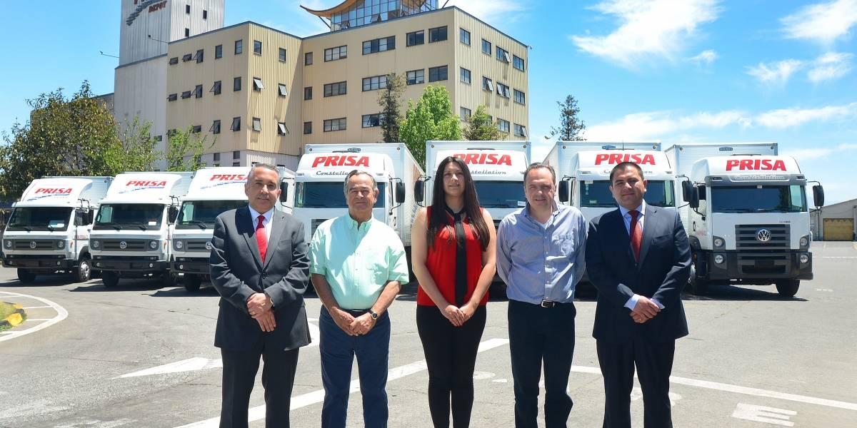 Prisa renueva su flota de camiones extendiendo su alianza con Volkswagen