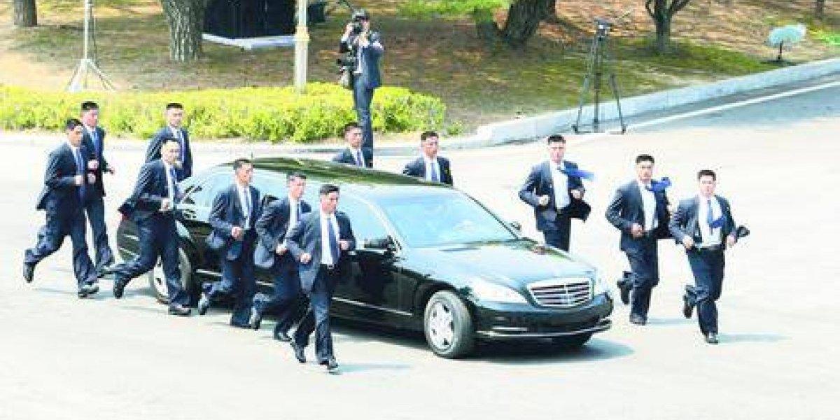 """Los guardaespaldas """"trotadores"""" de Kim Jong Un"""