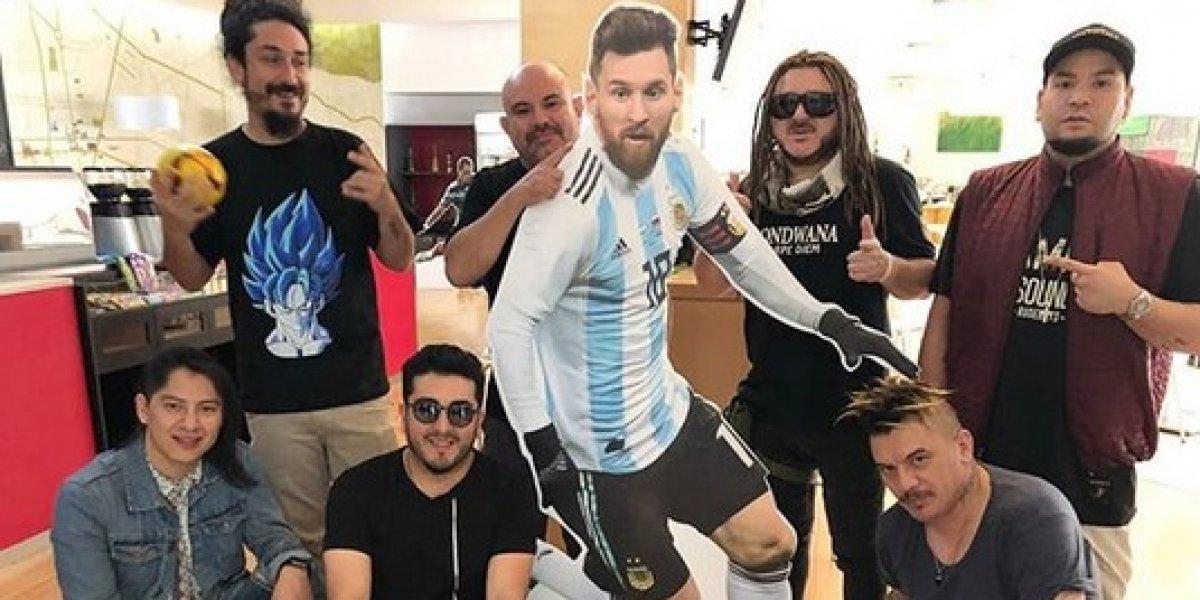 Gondwana hace buen equipo con Messi