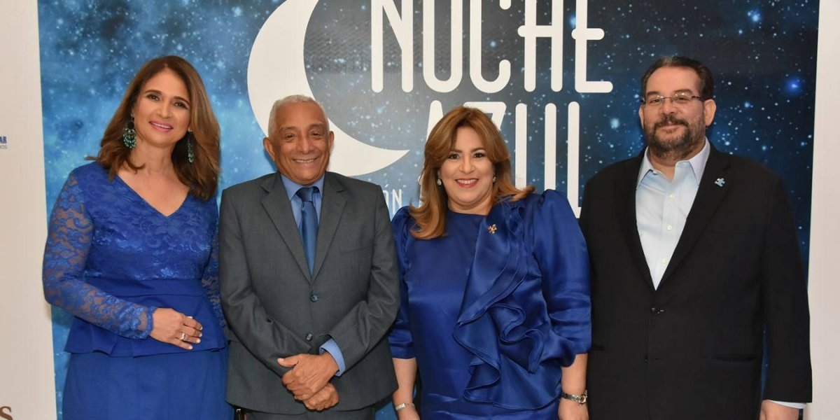 """TeVimosEn: Celebran cuarta edición de """"Noche Azul"""" por la discapacidad infantil"""