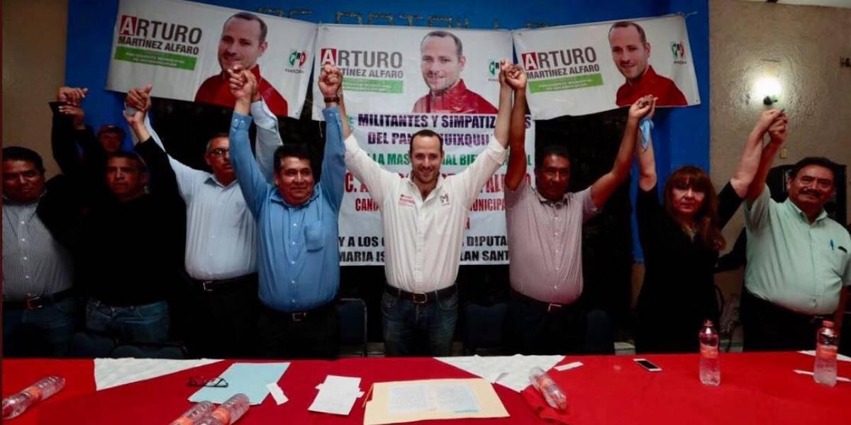Guillermo Espinoza se suma a campaña del PRI en Edomex