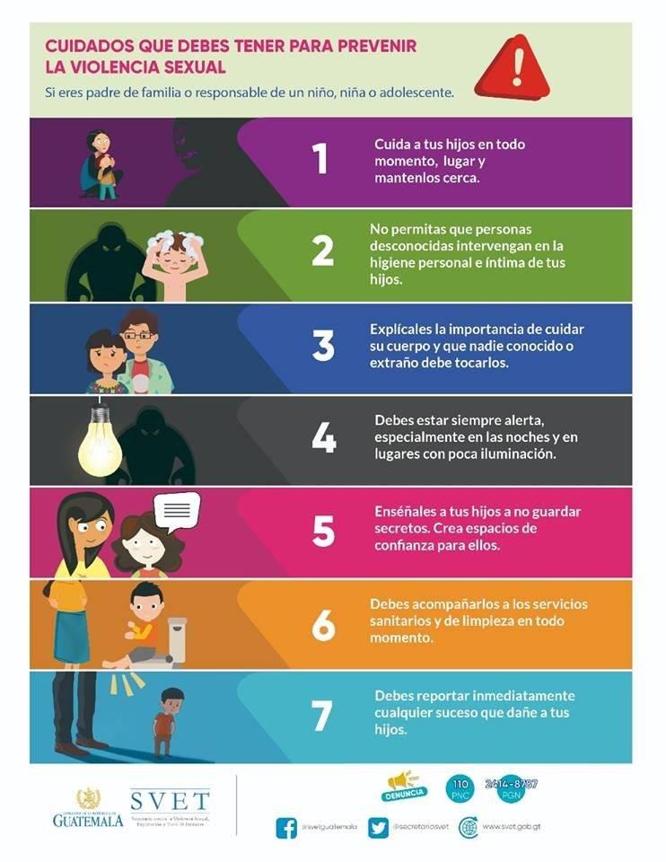 Prevención de abuso sexual