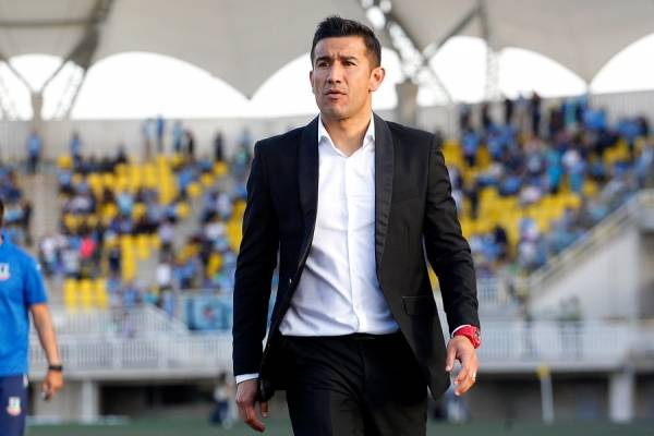 Rivero llegó a mediados de 2017 a La Calera. Evitó un descenso a Segunda que parecía sentenciado, subió a Primera y hoy marcha en el tercer lugar del Campeonato Nacional / Foto: Photosport