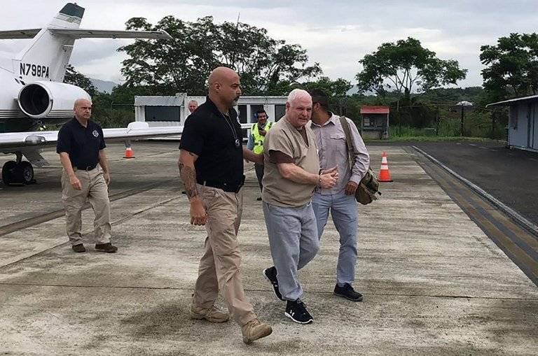 Ricardo Martinelli es extraditado