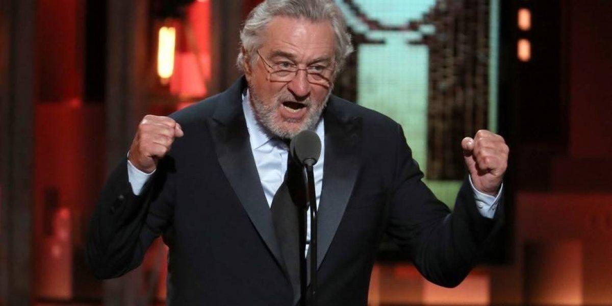 Así tal cual: Robert De Niro insulta fuertemente a Donald Trump durante discurso en los Tony Awards y la televisión lo censura