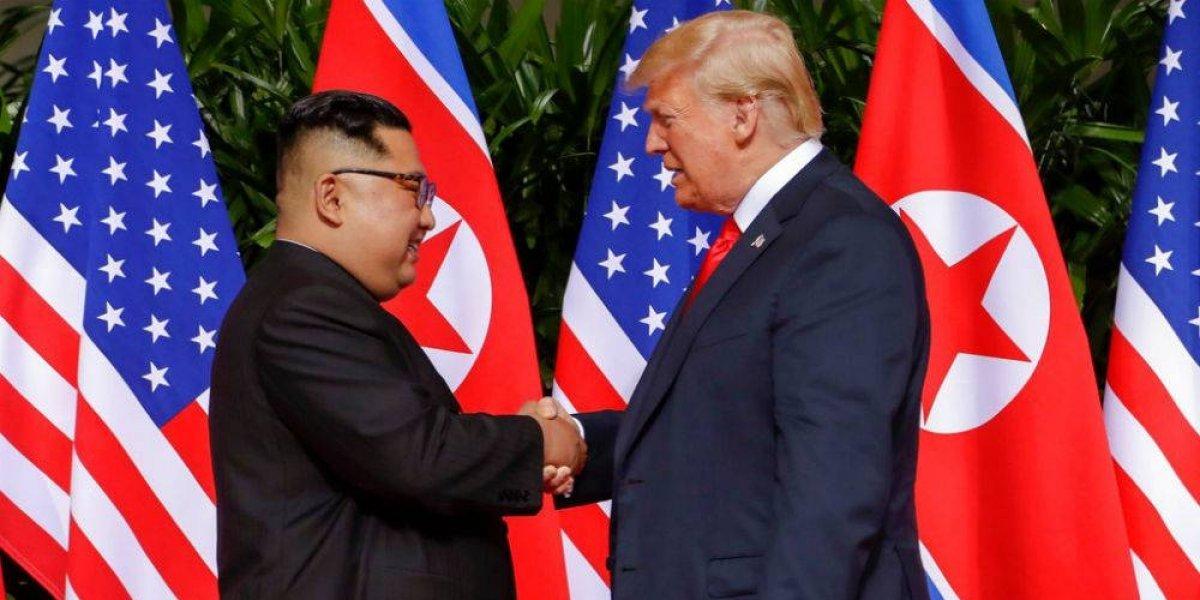 Kim Jong-Un promete estrecha colaboración con Trump en histórica reunión